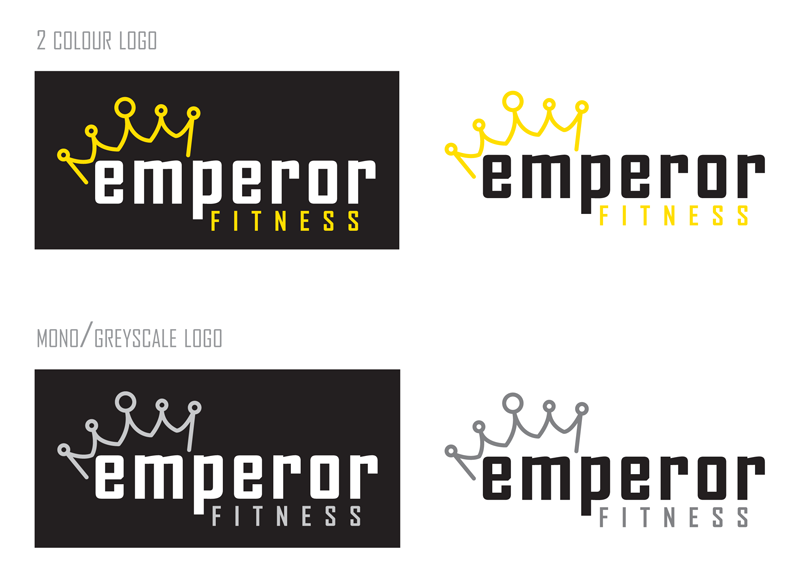 Emperor Fitness New Logo Design