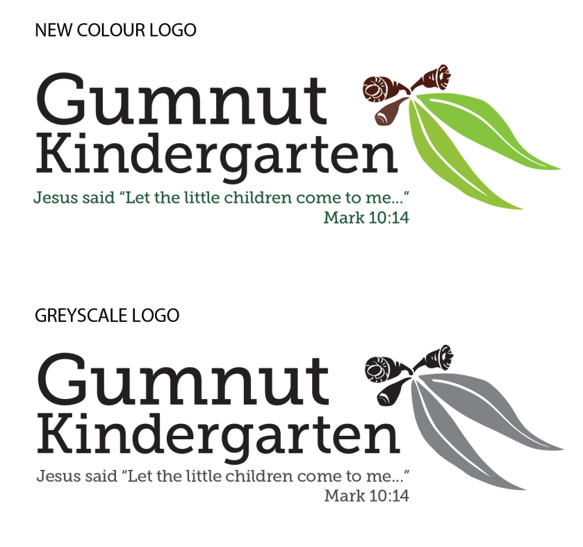 New Logo for Gumnut Kindergarten
